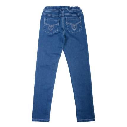 Брюки текстильные джинсовые для девочек(116) , 362021 синий деним EAN 4690244736580