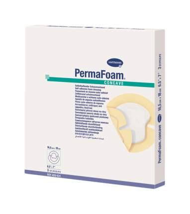 Повязка Permafoam concave на пятки и локти губчатая самоклеящаяся 16,5 х 18 см 3 шт.