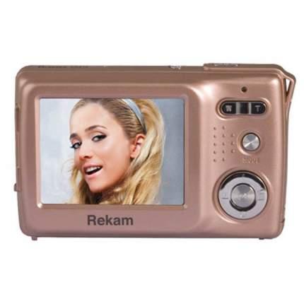 Фотоаппарат цифровой компактный Rekam iLook LM9 Gold