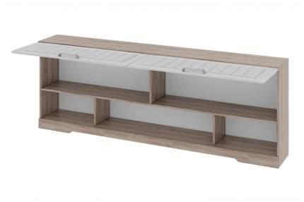 Платяной шкаф Hoff Прованс 80266857 204,4х29,5х72,8, дуб сонома трюфель/крем