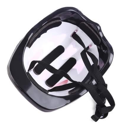 Шлем детский защитный Kids Care красный огонь