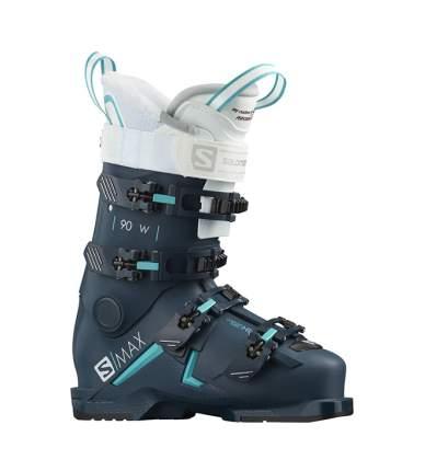 Горнолыжные ботинки Salomon S/Max 90 W Petrol Black/Scuba Blue (19/20) (22.5)