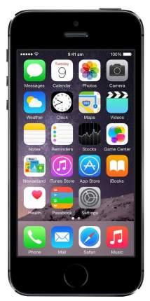 Смартфон Apple iPhone 5S 16Gb Space Gray (ME432RU/A)