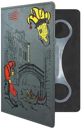 "Чехол для электронной книги Vivacase Venice 6"" серый (VUC-CVN06-gr)"