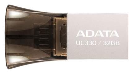 Флэш диск OTG ADATA UC330 AUC330-32G-RBK