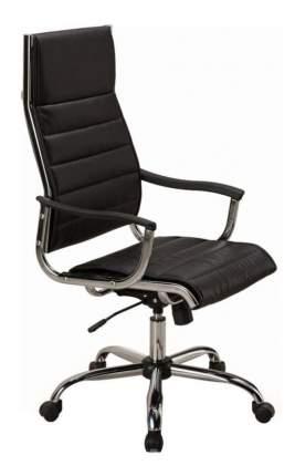 Кресло руководителя Бюрократ CH-994, черный/хром