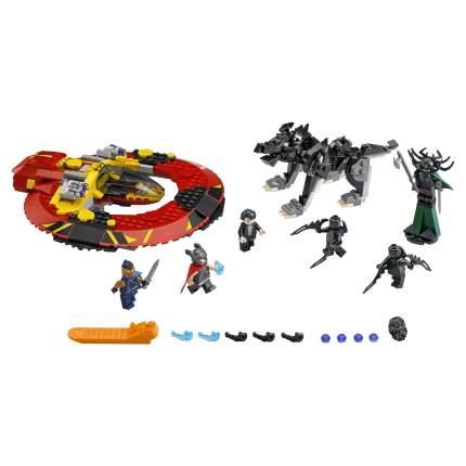 Конструктор LEGO Super Heroes Решающая битва за Асгард (76084)