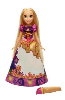 Кукла Disney Принцесса Рапунцель в юбке с проявляющимся принтом