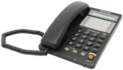Проводной телефон Panasonic KX-TS2365RUB черный