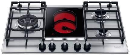 Встраиваемая варочная панель комбинированная Hotpoint-Ariston PK 741 RQO GH /HA Silver