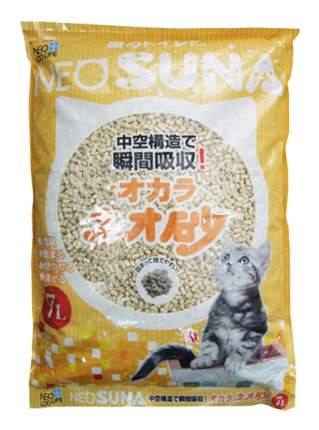 Комкующийся наполнитель для кошек NEO LOO LIFE соевый, 2.2 кг, 6 л
