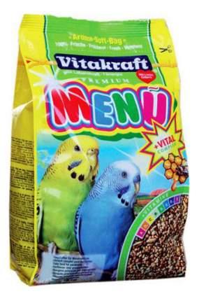 Основной корм Vitakraft для волнистых попугаев 1000 г, 1 шт