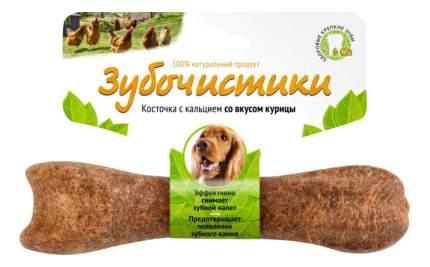 Лакомство для собак Деревенские лакомства Зубочистики, с курицей, для средних пород, 95г