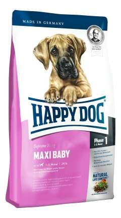 Сухой корм для щенков Happy Dog Supreme Young Maxi Baby, для крупных пород, птица, 4кг