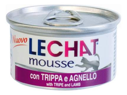 Консервы для кошек Lechat, потрошки, ягненок, 24шт по 85г