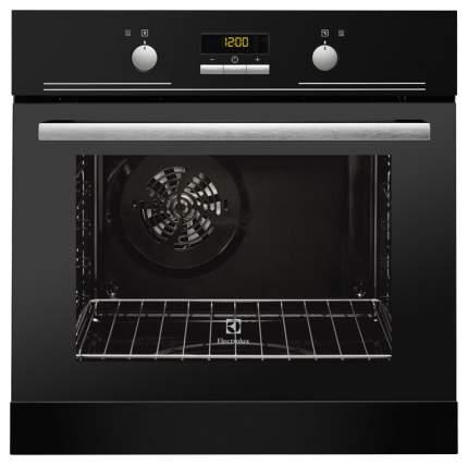 Встраиваемый электрический духовой шкаф Electrolux OEEB4330K Silver/Black
