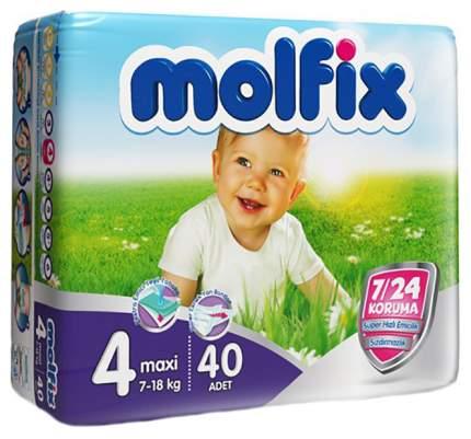 Подгузники Molfix ComfortFix Maxi 4 (7-18 кг), 60 шт.