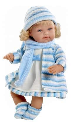 Кукла Arias Elegance в голубом пальто, 33 см