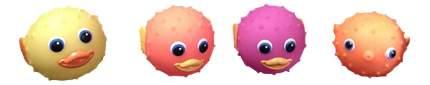 Игровой набор Затейники Рыбы-шары