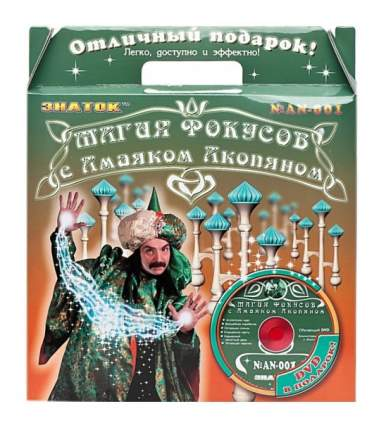 Настольная игра Знаток Магия Фокусов С Амаяком Акопяном Набор № 4