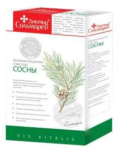 Соль для ванн Доктор Сольморей хвойный концентрат с сосной карт 900 гр