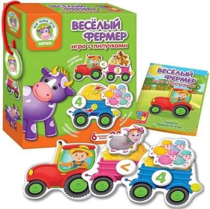 Настольная игра с липучками Vladi Toys Веселый фермер (VT1310-01)