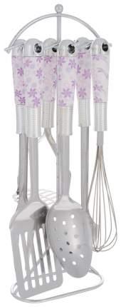 Набор кухонных принадлежностей Mayer&Boch 22012 Серебристый, фиолетовый, розовый