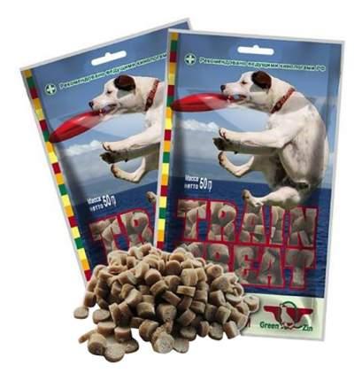 Лакомство для собак Green Qzin Лакомство Дрессура 1, мясо утки и тунец, 50г