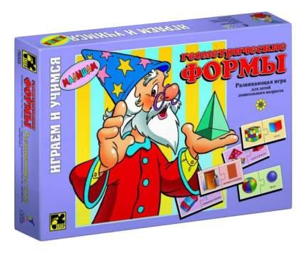 Семейная настольная игра Step Puzzle Геометрические формы