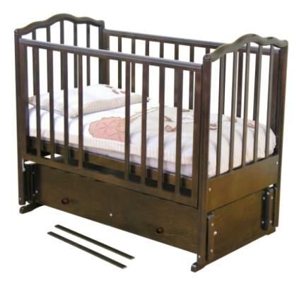 Кровать Красная звезда С-676 Ангелина шоколад