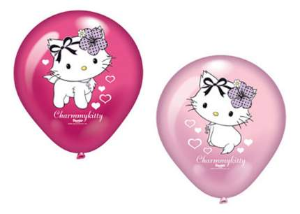 Набор шаров Riethmüller Everts Hello Kitty c сердечками