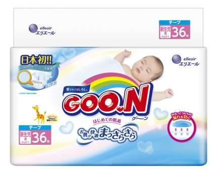 Подгузники для новорожденных GooN NB (до 5 кг), 36 шт.