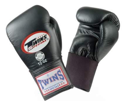 Боксерские перчатки Twins Special BGEL-1 черные 16 унций