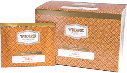 Чай черный Vkus ассам 20 пакетиков