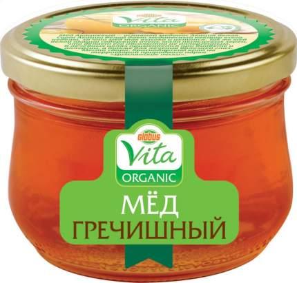 Мед гречишный Глобус Вита оrganic 270 г
