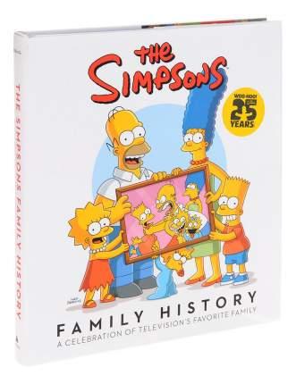 Комикс The Simpsons Family History