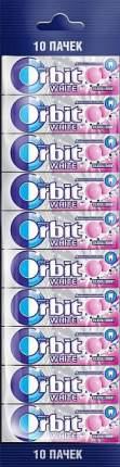 Жевательная резинка Orbit bubblemint 136 г 10 штук