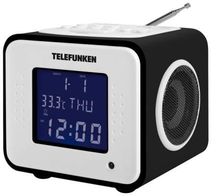 Радио-часы Telefunken TF-1575U Черное дерево