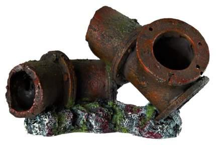 Грот для аквариума TRIXIE Tubing Трубы, полиэфирная смола, 15х10х12 см