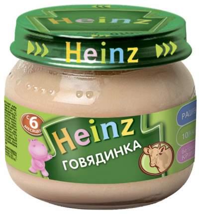 Пюре мясное Heinz Говядинка с 6 мес. 80 г