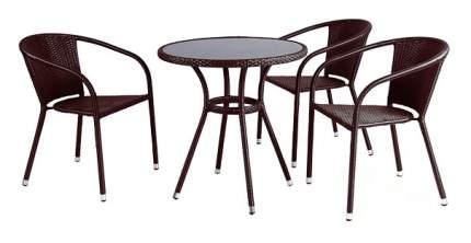 Комплект мебели Afina Garden T282ANS/Y137C-W53 Brown (3+1)