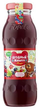 Морс Ягодный Мишка Черная и красная смородина с 3 лет 200 мл