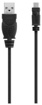 Кабель Belkin F3U155 miniUSB 1,8м Black