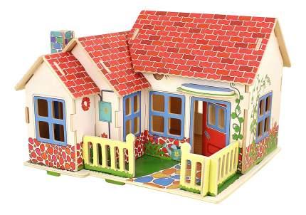Пазл Деревянный домик в деревне 27 элем. Bondibon вв2188