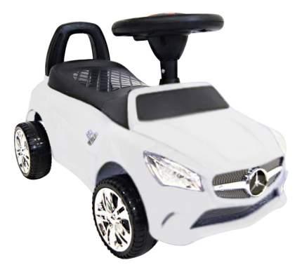 Толокар Mercedes белый RIVERTOYS