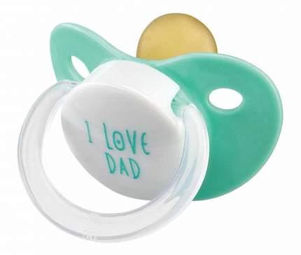 Соска-пустышка латексная mint Happy Baby
