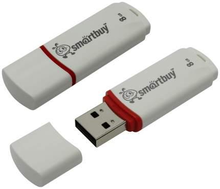 USB-флешка SmartBuy Crown 8GB White (SB8GBCRW-W)