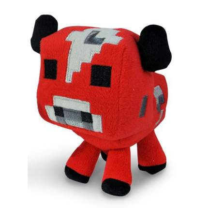Мягкая игрушка Minecraft Minecraft Baby Mooshroom Minecraft Детеныш грибной коровы, 18 см