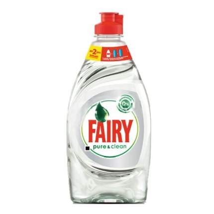 Средство для мытья посуды Fairy pure&clean 450 мл