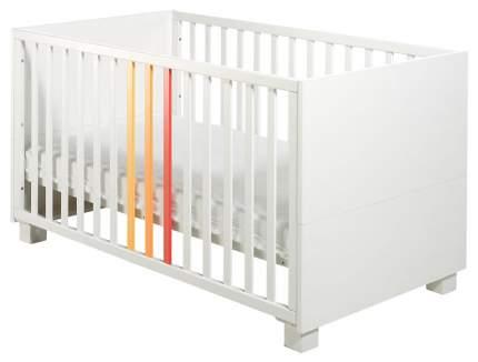 Детская кроватка Geuther ColorLine, Белый с цветными вставками